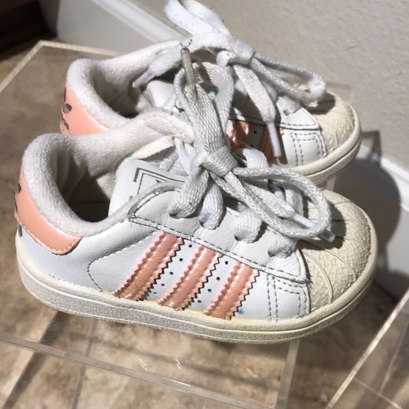 fdb18d178876 adidas Other - Adidas baby girl toddler sneakers size 5